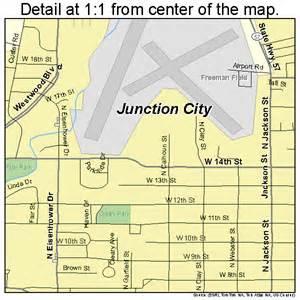 junction city kansas map 2035750