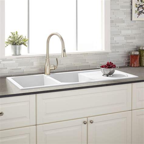 white kitchen sink drain best 25 kitchen sinks ideas on pantries