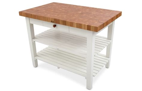 boos cherry mediterranean butcher block table