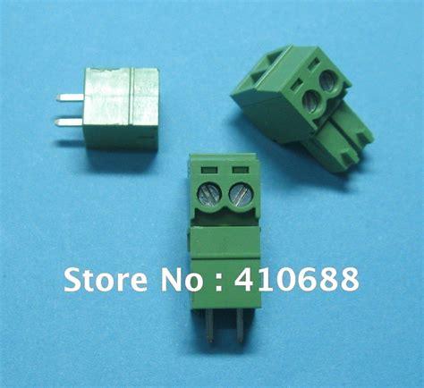 Terminal Block Hijau Kf350 2pin Pitch 3 5mm Kualitas No 1 popular 3 5mm terminal buy cheap 3 5mm