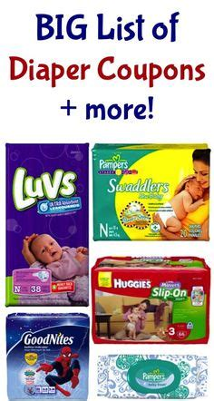 huge diaper coupons