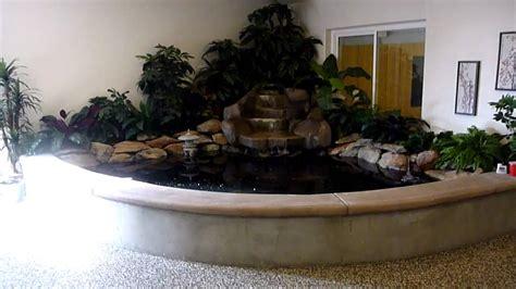 indoor koi pond youtube