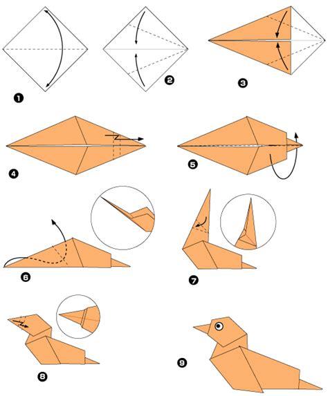 origami tutorial wolf canard origamis pinterest origami origami tutorial