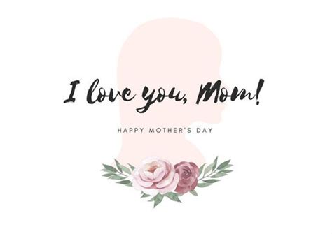 mothers day card template plotter 母の日のカード テンプレート canva