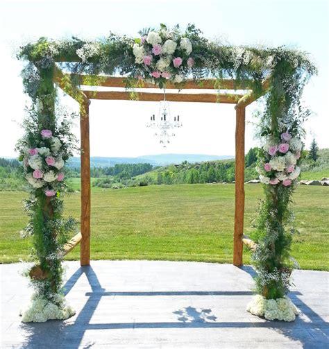 Wedding Arch Calgary by Wedding Ceremony Ideas Dahlia Floral Design Calgary