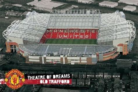 Wooden Wall Murals old trafford theatre of dreams manchester united