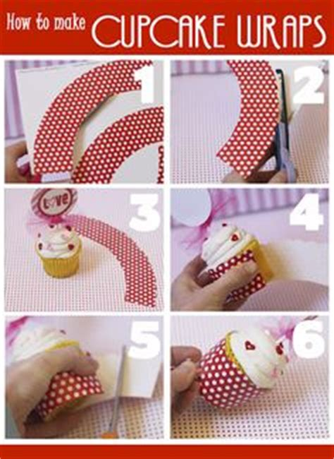 How To Make Cupcake Holders With Paper - cupcake wrappers cupcake and templates on