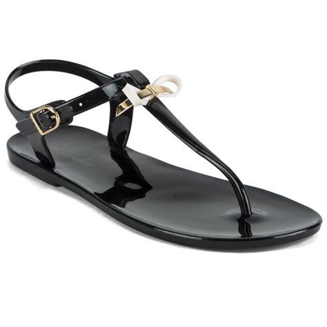 Ted Baker Jelly Sandal ted baker s verona bow jelly sandals black free uk delivery allsole