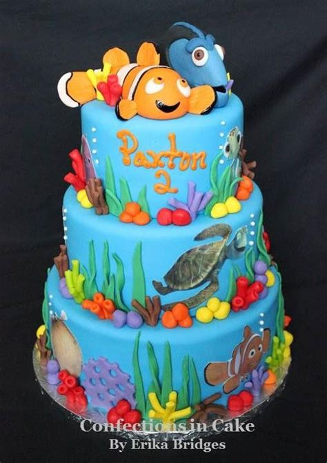 nemo cake template 19 best finding dory images on finding dory