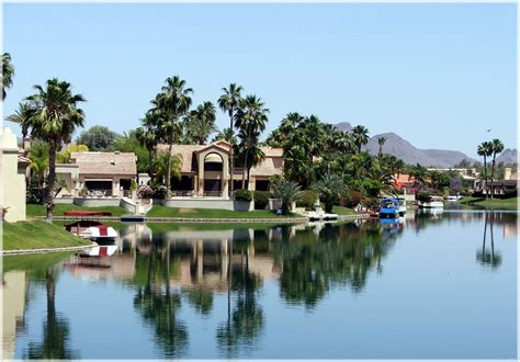 Scottsdale Az Property Records Arizona Waterfront Homes 187 Scottsdale Ranch Lakefront3