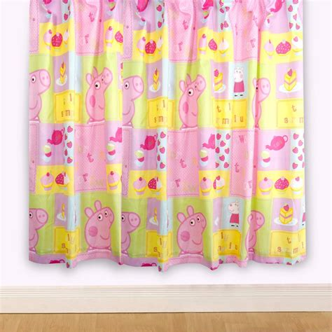 peppa pig curtains peppa pig bedding bedroom decor duvets wall stickers