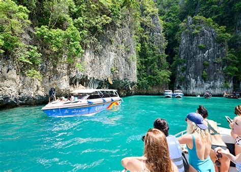 phi phi and khai island tour by speed boat phuket tour - Boat Tour From Phi Phi Island