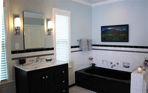 houzz black and white bathroom black and white contemporary traditional bathroom