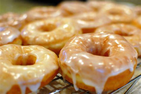 glazed donuts krispy kreme doughnut copycat