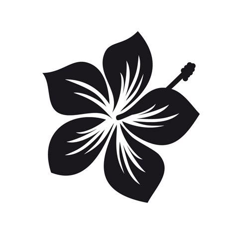 Auto Dekor Aufkleber Blumen aufkleber auto dekor quot hibiskus blume quot in schwarz
