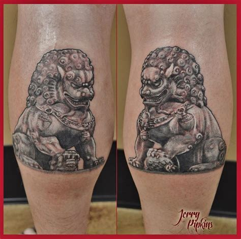 chinese lion tattoo 17 best images about fu dogs on ink tattoos