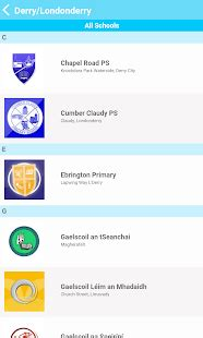 app design northern ireland schools ni android apps on google play
