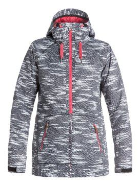 black and white patterned ski jacket womens ski jackets roxy ski jackets for women roxy