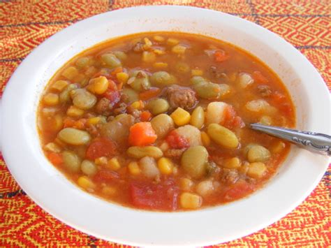 easy vegetable soup recipe for simple hamburger vegetable soup recipe genius kitchen
