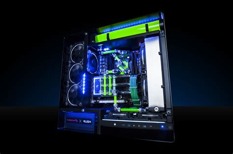 Maingear Unveils Rush Gaming Desktop Pc Gamingshogun Gaming Desk Top