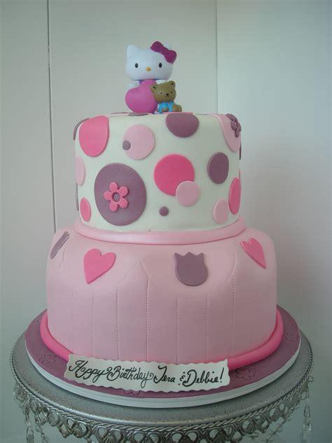 Fondant hello kitty cake a sweet design s blog