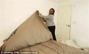 who invented the duvet joyce bert set to make a fortune with three sided duvet