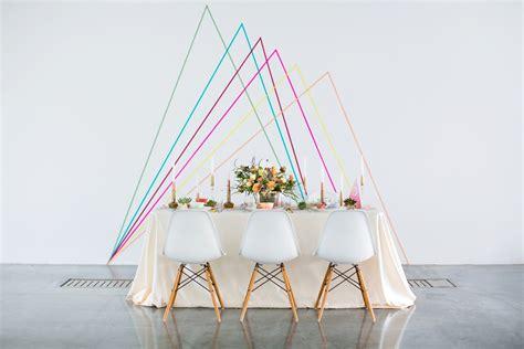 Japanese Wedding Backdrop by Geometric Wedding Backdrop Diy