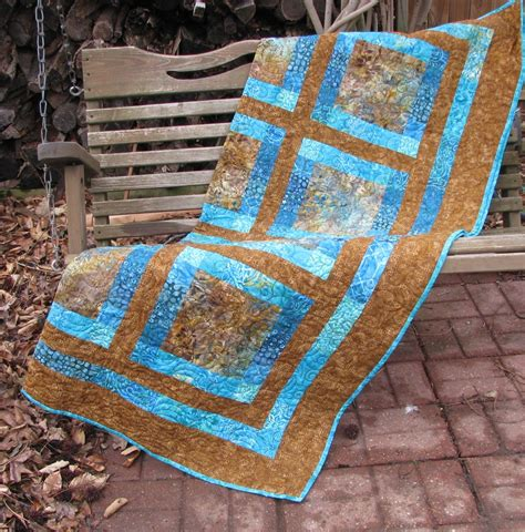 Quilt Throw by Quilt Sofa Quilt Quilted Throw Brown And Teal