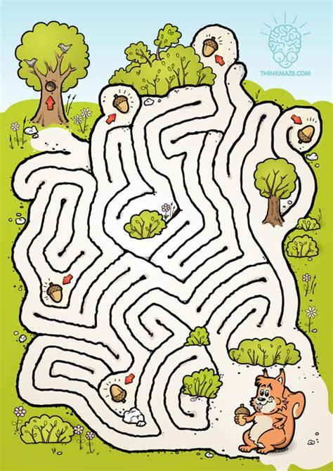 this is not a maze objects color search books nutty squirrel maze thinkmaze beautiful mazes on