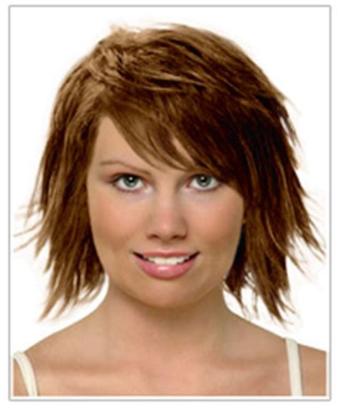 nice hairstyles for diamond shaped face ad over 50 women short hair with wispy bangs compliments a square shaped
