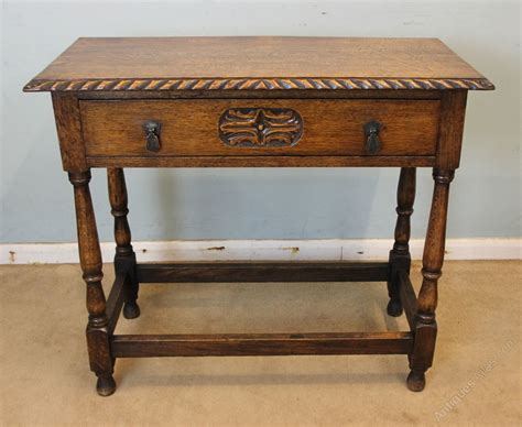 antique oak side table table antiques atlas
