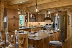 Log Home Kitchen Design Craftsman Style Kitchen Designs Decosee Com
