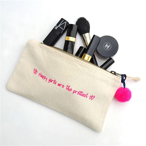 Mini Makeup Bag happy mini make up bag by leonora hammond