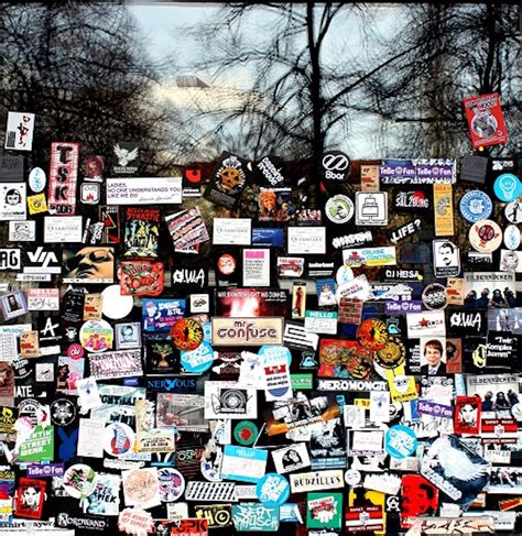 Sticker Museum Berlin by Hatch Sticker Museum Il Coloratissimo Museo Degli Adesivi