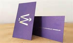 metallic print business cards metallic print nyc