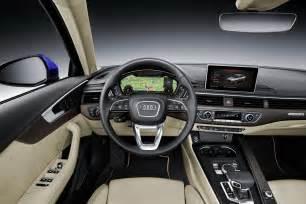 Audi A8 Interior 2017 Audi A4 Sedan Wagon Looks Familiar But It S All