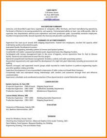 Resume With Employment Gaps Sle Employment Resume Haadyaooverbayresort