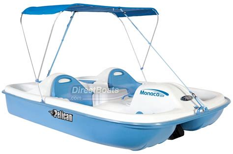pedal boat monaco dlx angler the pelican monaco dlx pedal boat offers room for 2 adults