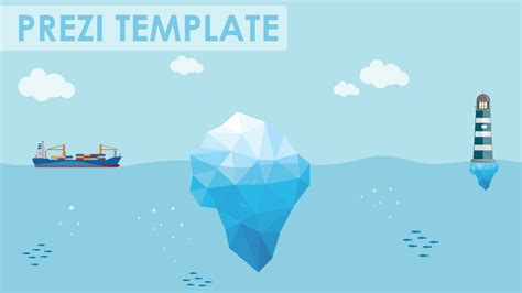 Business Risks Iceberg Prezi Template Youtube How To Choose A Template On Prezi Next