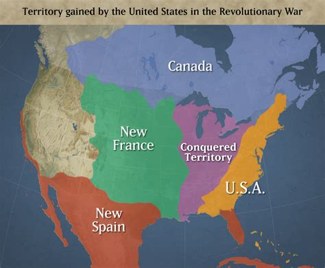 map of the us during the 1700s documentary