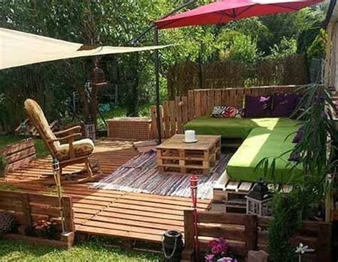 Yoga Holz Deck Outdoor Pallet Furniture Ideas Upcycled Upcycled Garden Furniture Ideas