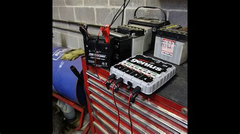 marine battery charger not working 4 bank marine battery charger review youtube