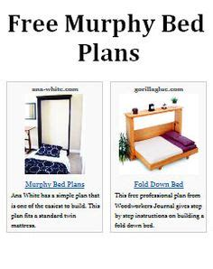Murphy Bed Design Plans Pdf 1000 Ideas About Murphy Beds On Wall Beds
