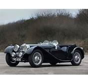 1936 Jaguar SS 100 Roadster Retro S Wallpaper