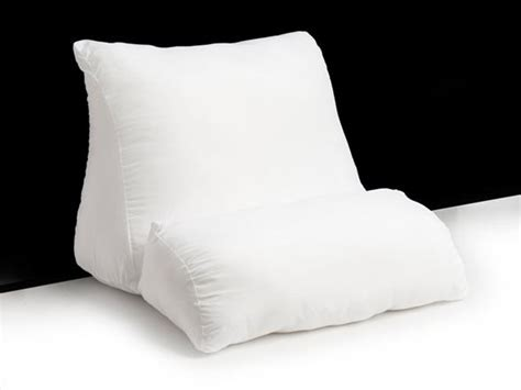 upright bed pillow 4 flip wedge pillow home woot
