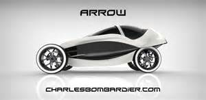 Electric Car Concept Design The Arrow What Happens When An Electric Motorcycle And A