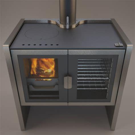 Wood Burning Kitchen Stove by Razen New Contemporary Wood Burning Cookstove