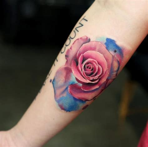 water colour rose tattoo 70 gorgeous tattoos that put all others to shame