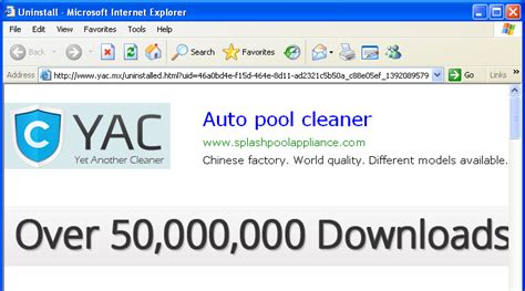yac cleaner how to uninstall yet another cleaner yac and remove search