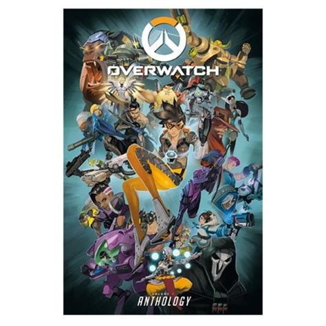 libro overwatch anthology volume 1 overwatch anthology volume 1 dark horse overwatch graphic novels at entertainment earth